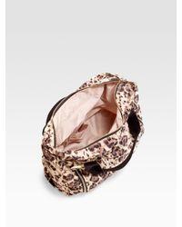 Stella McCartney - Multicolor Nirvana Leopard Print Nylon Top Handle Bag - Lyst