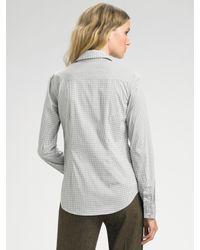 Theory - White Macina Wealth Shirt - Lyst