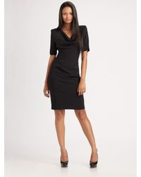 Black Halo | Black Cameron Sheath Dress | Lyst