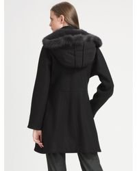 Brian Reyes | Black Fur-lined Hood Jacket | Lyst