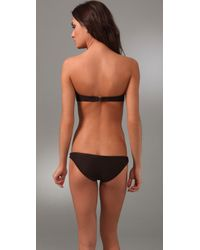Cali Dreaming - Brown Twist Front Bikini - Lyst