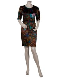Erdem - Multicolor Zoffany Button Front Dress - Lyst