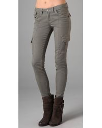 Joe's Jeans | Gray Chelsea Twill Ankle Pants | Lyst