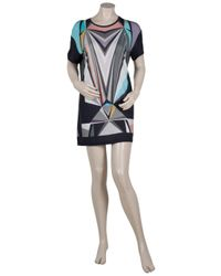 Jonathan Saunders - Multicolor Prism Print Dress - Lyst