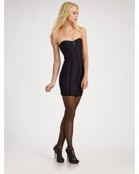 Lisa Marie Fernandez | Black Zip-bustier Dress | Lyst
