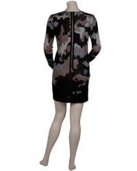 Markus Lupfer | Natural Camouflage Zip Dress | Lyst