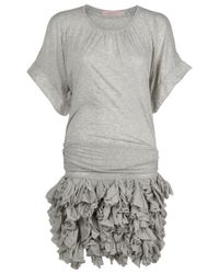 Preen By Thornton Bregazzi - Gray Trickel Dress - Lyst