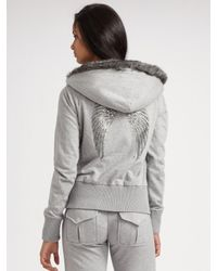 Twisted Heart - Gray Knit Drawstring Pants - Lyst