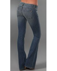 Vince - Blue Eclipse Flare Jeans - Lyst
