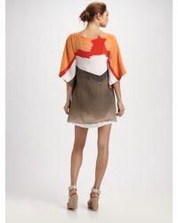 Alice + Olivia - White Kingsley Kimono Dress - Lyst
