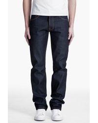 Nudie Jeans - Purple Average Joe Dry Organic Jeans for Men - Lyst