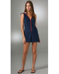 Pret-a-surf | Blue Terry Romper | Lyst
