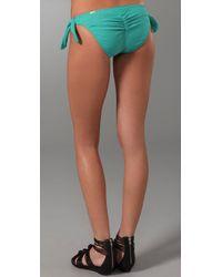 Rosa Cha - Green Jade Solid Bikini Bottoms - Lyst
