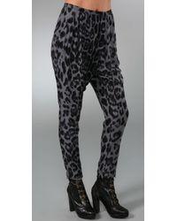 By Malene Birger | Gray Linexa Leopard Harem Pants | Lyst