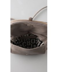 Marc By Marc Jacobs | Gray Petal To The Metal Flap Pouchette | Lyst