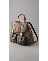 Tory Burch - Green Tierney Nylon Backpack - Lyst