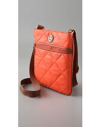 Tory Burch - Orange Large Alice Messenger Bag - Lyst