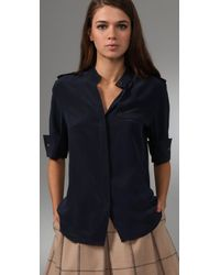 Club Monaco - Blue Iman Shirt - Lyst
