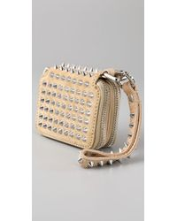 3.1 Phillip Lim - Natural Berry Wristlet with Studs - Lyst