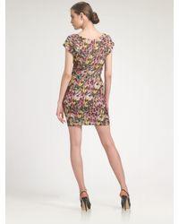 Leifsdottir | Pink Feather Fiesta Dress | Lyst