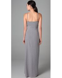 Mara Hoffman - White Bustier Long Dress - Lyst