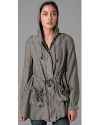 Free People | Green Full Sweep Anorak | Lyst