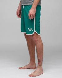 RVCA | Green Eastern Trunk for Men | Lyst