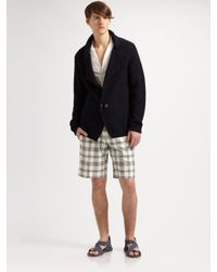 Viktor & Rolf | Black Plaid Shorts for Men | Lyst