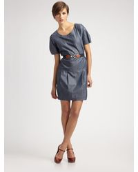 Weekend by Maxmara - Blue Sabrina Short Dress - Lyst