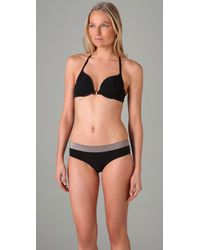 Calvin Klein | Black Perfectly Fit Front Fastening Multiway Bra | Lyst