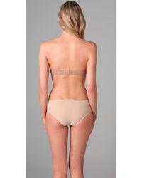 Calvin Klein - Natural Envy Sexy Plunge Strapless Bra - Lyst