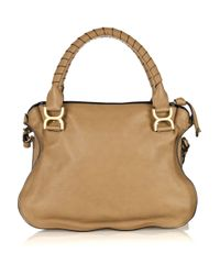 Chloé | Brown Marcie Small Leather Bag | Lyst