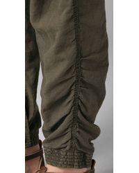 Free People | Green Benjis Utility Pants | Lyst