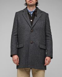 A.P.C. | Gray Manteau Veste for Men | Lyst