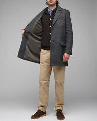 A.P.C. - Gray Manteau Veste for Men - Lyst