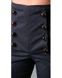 DSquared² - Blue Jackie Sailor Pants - Lyst