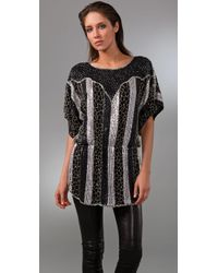 Parker | Black Beaded Tunic | Lyst