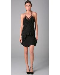 Preen By Thornton Bregazzi - Black Bardot Slip Dress - Lyst