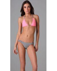 Tigerlily | Pink Fortuna Bikini | Lyst