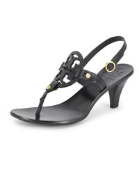 Tory Burch | Black Holly Sandal | Lyst