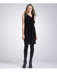 Tory Burch | Black Taletta Dress | Lyst