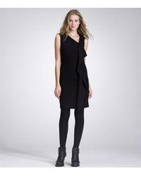 Tory Burch - Black Taletta Dress - Lyst