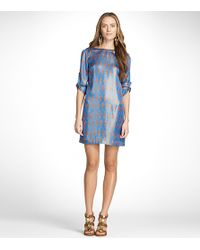Tory Burch | Blue Judith Dress | Lyst