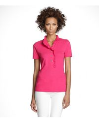 Tory Burch | Pink Lidia Polo | Lyst