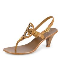 Tory Burch | Brown Holly Sandal | Lyst