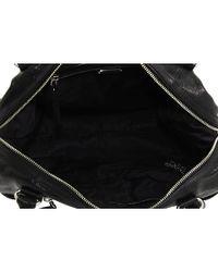 Botkier - Black Venice Leather Zippered Satchel - Lyst