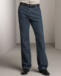 Ermenegildo Zegna | Blue Trigger Jeans, Antique Wash for Men | Lyst