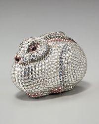 Judith Leiber - Metallic Rabbit Pill Box - Lyst