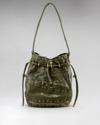 Kooba | Green Bryce Drawstring Shoulder Bag | Lyst