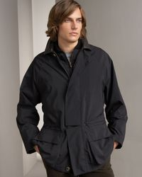 Loro Piana | Black Horsey 20k Storm Jacket for Men | Lyst